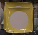 Rosenthal No Limit Yellow Square Dinner Plate