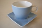 Rosenthal No Limit Blue Espresso Cup & Saucer