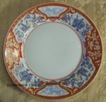 Haviland Limoges Imari Rouge Dinner Plate