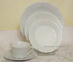 Hutschenreuther Baronesse White Place Setting