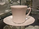 Hutschenreuther Baronesse White Coffee Cup &Saucer