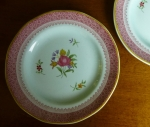 "Adams Lowestoft bread plate(s) 6"" English Calyx Ware"