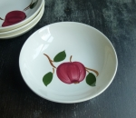 Blue Ridge Arlington Apple berry bowls 5 1/2""