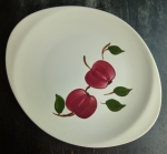 Blue Ridge Arlington Apple oval platter 11 3/4""