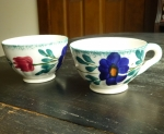 Blue Ridge Medley Tea Cups (2)