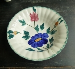 Blue Ridge Medley Round Vegetable Bowl 9 1/2""
