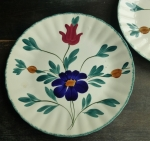 Blue Ridge Medley Dinner Plate 10 3/8""
