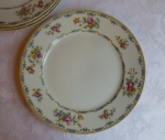 CF Haviland Limoges The Rochelle Luncheon Plates, set of 4