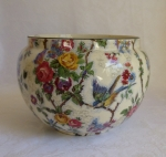 Chintz Lorna Doone pattern planter, earthenware