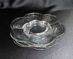 Duncan Miller Glass 4 Canterbury #115 bread plates