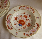 Royal Crown Derby Soup Plates/Bowls, early 19th century