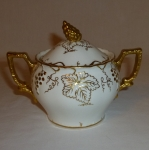 Royal Crown Derby Vine Gold, Sugar Bowl, 1.5 c. size
