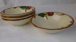 Franciscan Apple USA cereal bowls 4