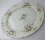 Haviland Limoges NY Apple Blossom Platter 14 inch