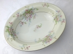 Haviland Limoges NY Apple Blossom Oval Vegetable Bowl 9,5""