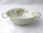 Haviland Limoges NY Apple Blossom cream soup cups