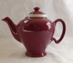 Hall teapot McCormick in maroon