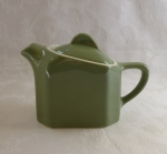 Hall teapot individual size restaurant ware green