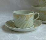 Haviland French Limoge Ladore Cup & Saucer
