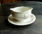 Haviland Limoges NY Apple Blossom Gravy Boat