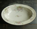Haviland Limoges NY Apple Blossom Oval Vegetable Bowl 9 3/4""