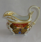 Derby Imari porcelain gravy boat early 19th century England