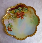 Rosenthal D'Arcy Studio hand painted cabinet plate signed