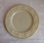Lenox Matelasse' Salad Plate 8 inches, ivory & gold