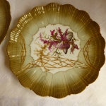 Martial Redon Limoges Fish or Seafood Plates set of 2