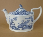 Mason's Old Chelsea teapot 4 1/2 cup bird of Paradise
