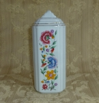Talc or Baby Powder shaker, china porcelain vintage Japanese
