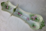 RS Prussia porcelain spoon rest hand painted