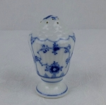 Royal Copenhage Blue Fluted salt shaker with orig cork