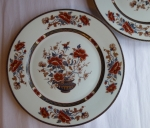 Royal Limoges Mandarin dinner plates set of 2 French Limoges