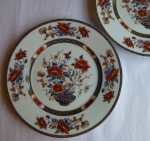 Royal Limoges Mandarin salad plates set of 2 French Limoges