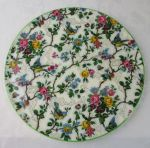 Royal Tudor chintz Lorna Doone cake plate or charger