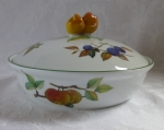 Royal Worcester Evesham Vale covered vegetable bowl