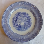 Podmore Walker & Co 1834-59, Venus 9 3/4 plate, English blue