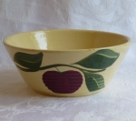 "Watt Pottery Apple 7.5"" Baker or Bowl #600"