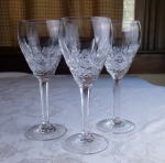 Waterford Crystal 3 wine glasses Marquis Laurent