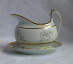 Barr Flight Worcester Gravy Boat Neoclassical England 1810