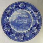 "Wedgwood Historic 10"" plate Quincy Homestead, Mass."