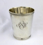 Whiting antique sterling silver mint julep cup tumbler