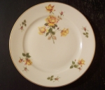 Rosenthal Charlene yellow rose Bread Plate(s)
