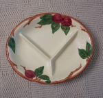 Franciscan Apple USA child's divided dish