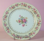 Gold Castle Hostess Luncheon Plate, Occupied Japan