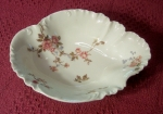 Haviland Limoges 266B fancy vegetable bowl, kidney shape