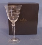 Rosenthal Crystal Hula Hoop White Wine Glasses - 2
