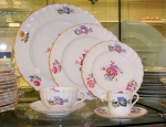 Spode Copeland Iris 40 piece set, Service for 8, English