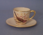 Lenox Birds of North America Cup & Saucer signed, Jan Nosek
